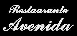 Logotipo Restaurante Avenida en Arcade