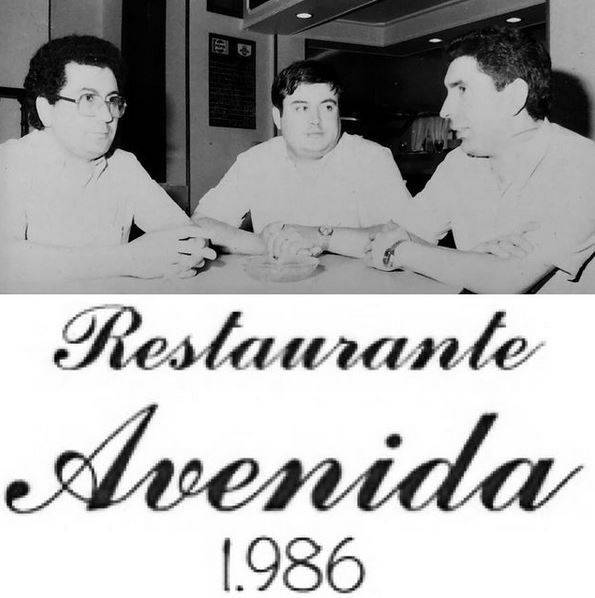 restaurante avenida 1986
